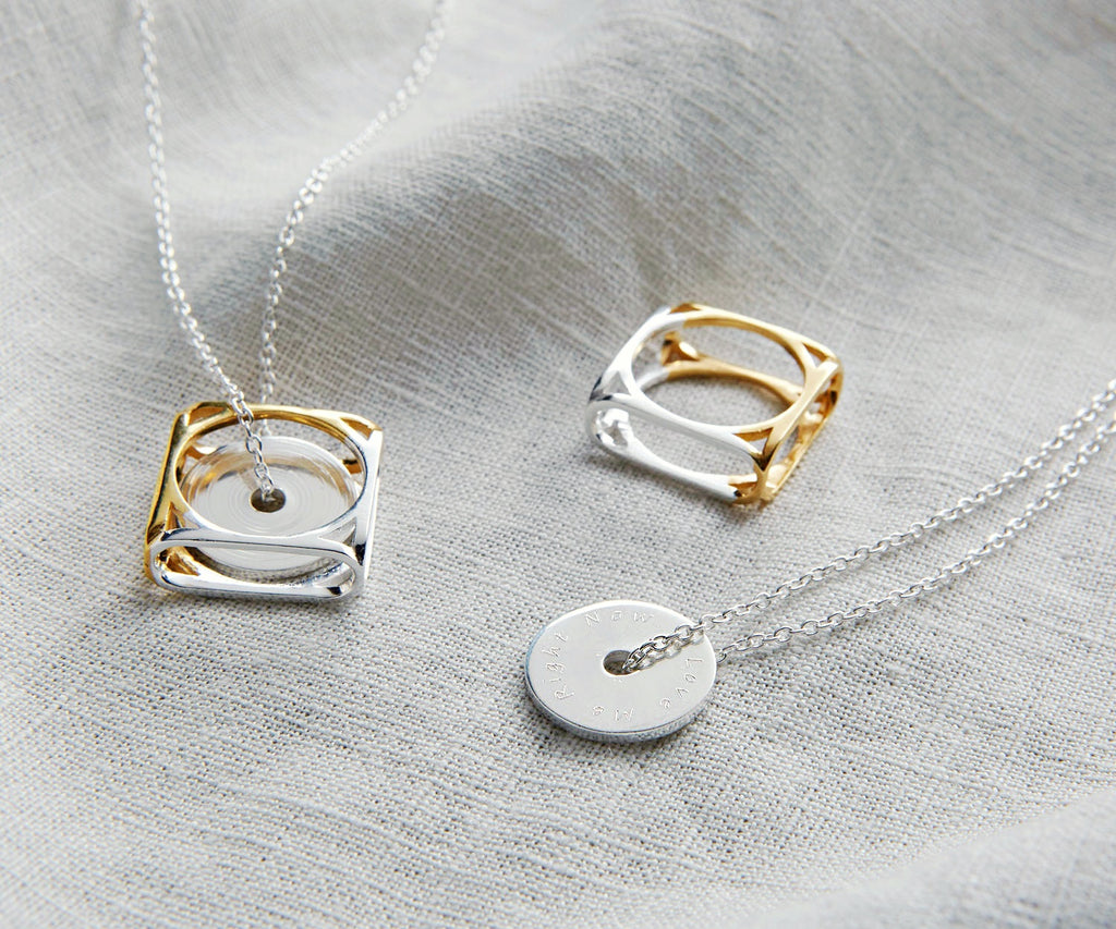 Bloom Twins Friendship Necklace