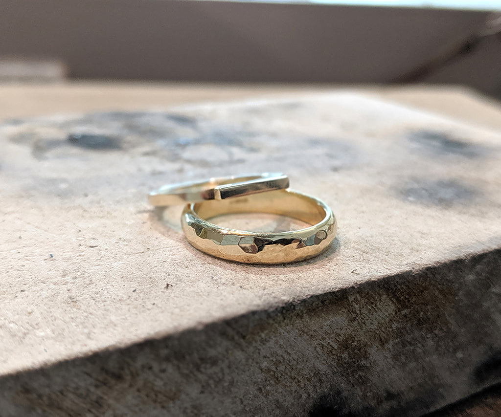 TICKETS: Recycled Silver/Gold Couples Ring Workshop