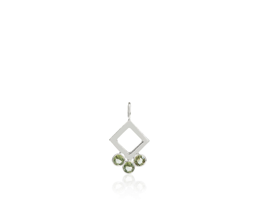 peridot birthstone gem stones luxury jewellery design silver gold Maya Magal London