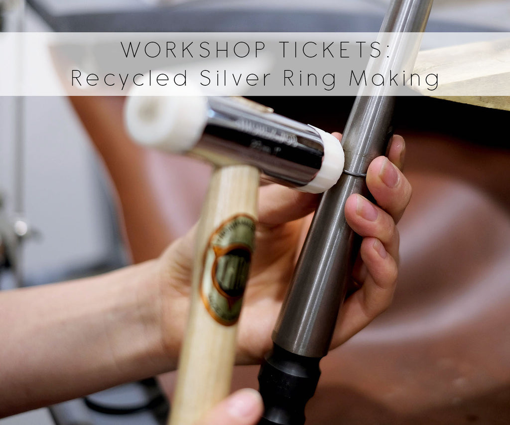 TICKETS: Make Your Own Recycled Silver Ring Workshop