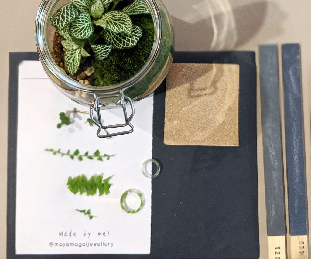 TICKETS: Create your own plant terrarium and resin ring