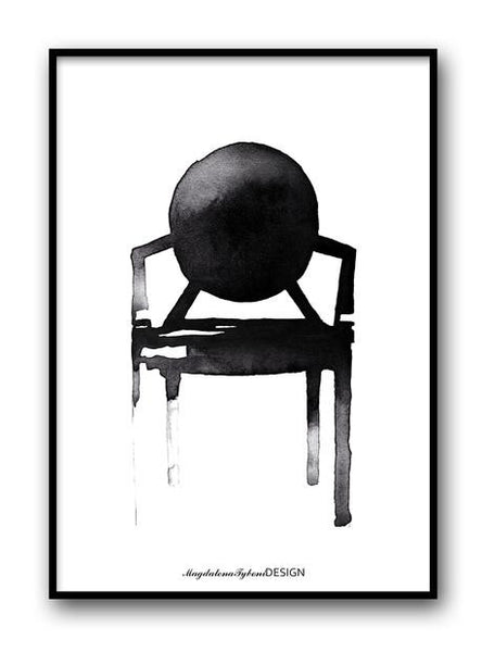 Magdalena Tyboni - Ghost Chair