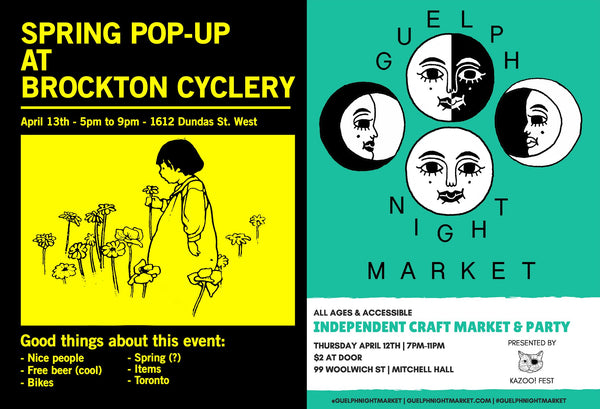 Spring Pop-Ups This Weekend