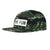 No Fun Press - logo 5 panel hat - tiger camo