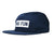 No Fun Press - logo 5 panel hat - navy