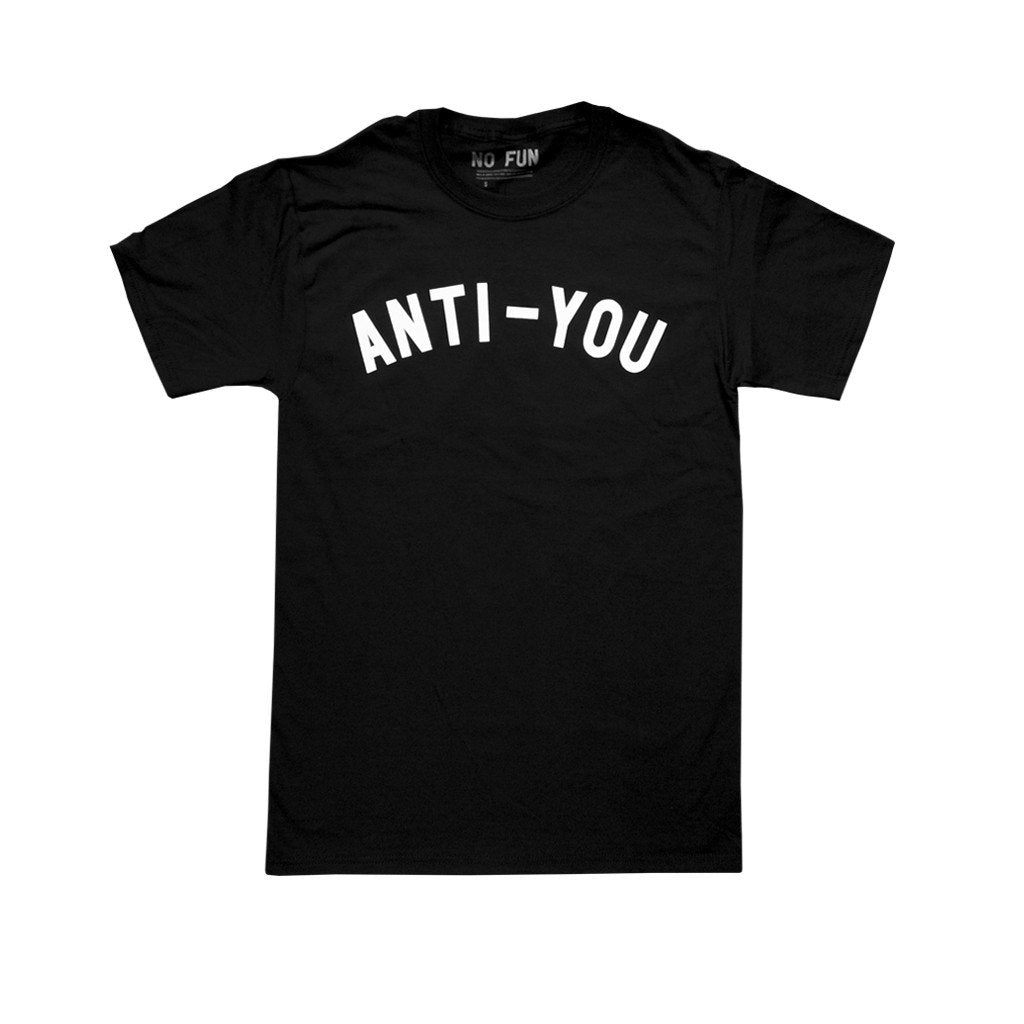 Original black Anti-you shirt by No Fun®