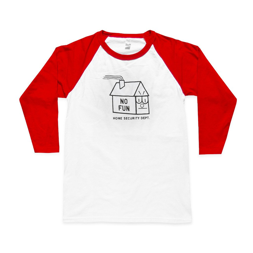 """Home Safe"" Baseball Shirt"