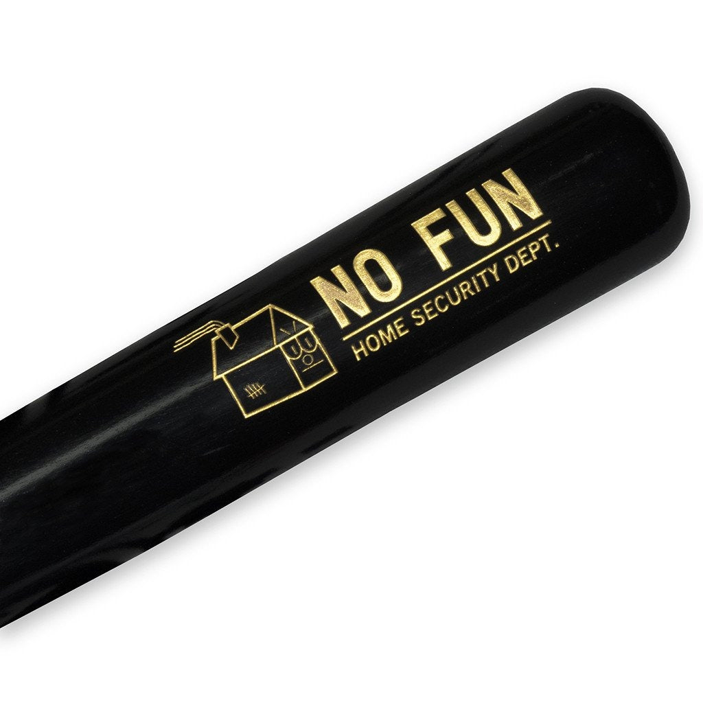 "No Fun Press x B45 ""Home Security"" Baseball Bat"