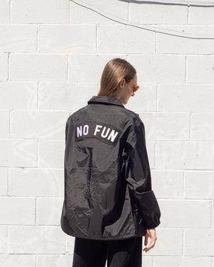 Crawling Death® x No Fun® Coach Jacket