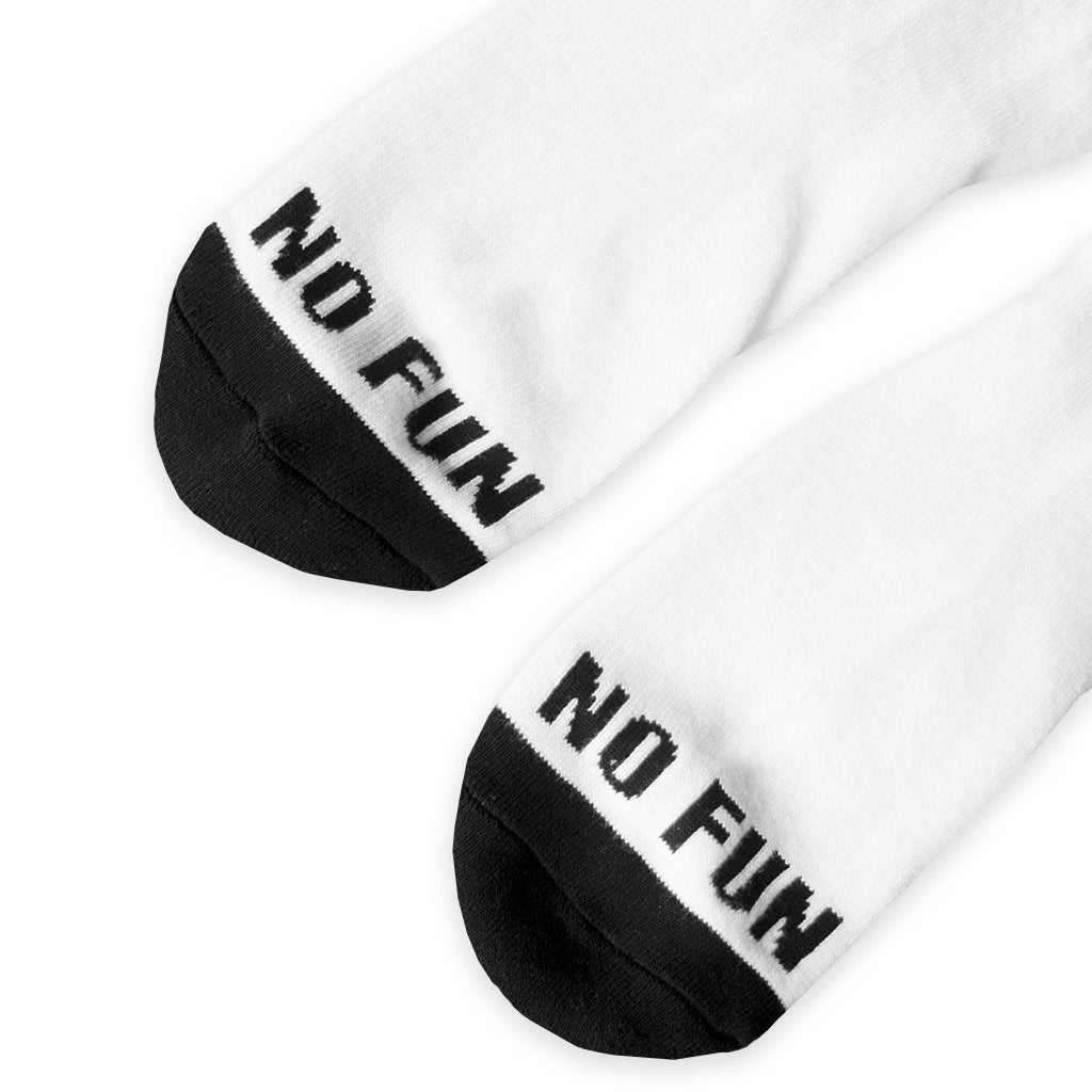 """No Fun"" Socks"