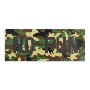 """No Fun®"" Fridge Magnet"