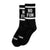 """No Fun®"" Socks - Black"