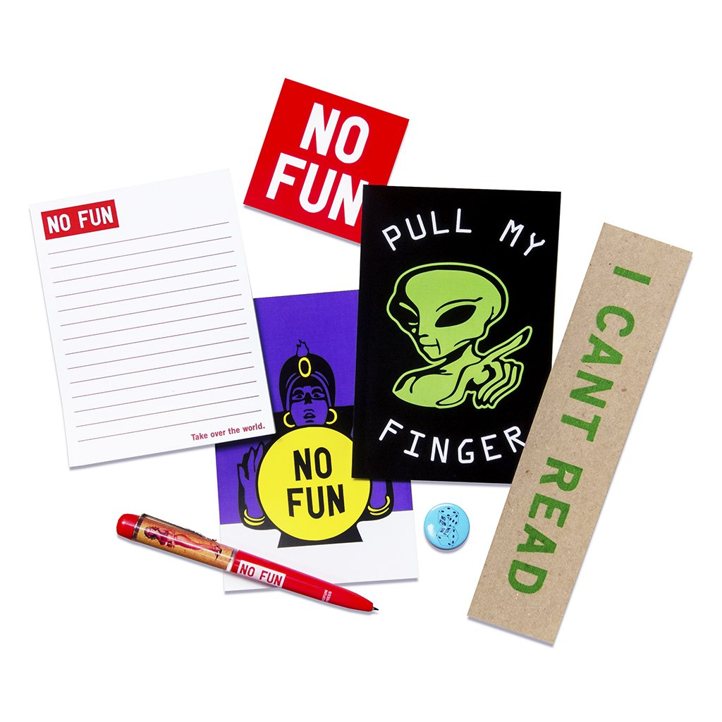 No Fun Press - paper pack stationery gift set