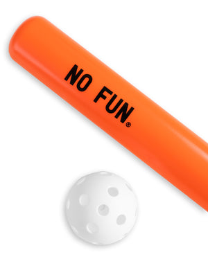 """No Fun®"" Sport Bat Set"