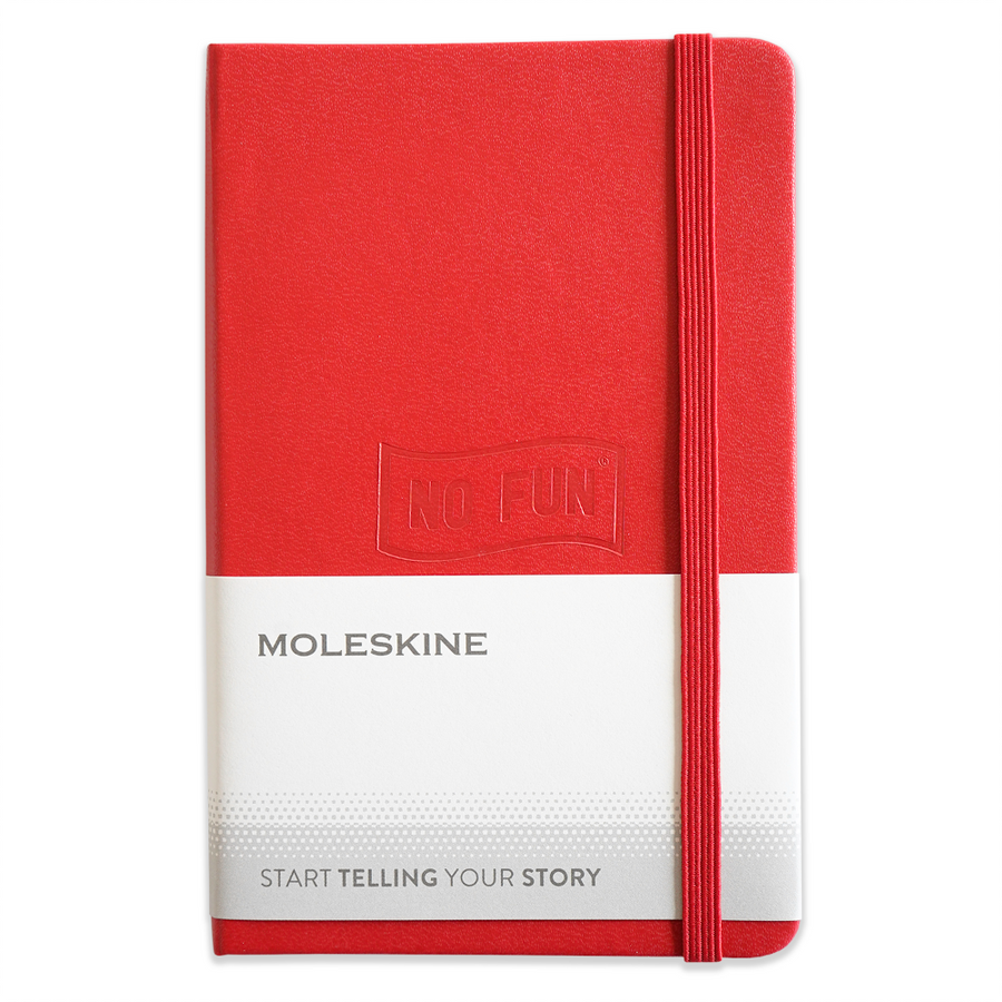 Moleskine® x No Fun® Notebook