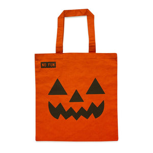 """Pumpkin Spice"" Tote Bag - No Fun®"