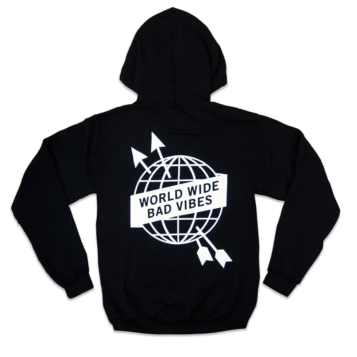 """World Wide Bad Vibes"" hoodie"