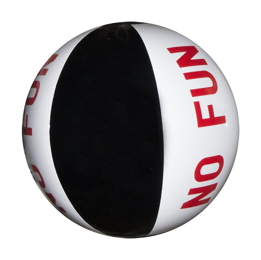 No Fun Press - Inflatable Beach Ball