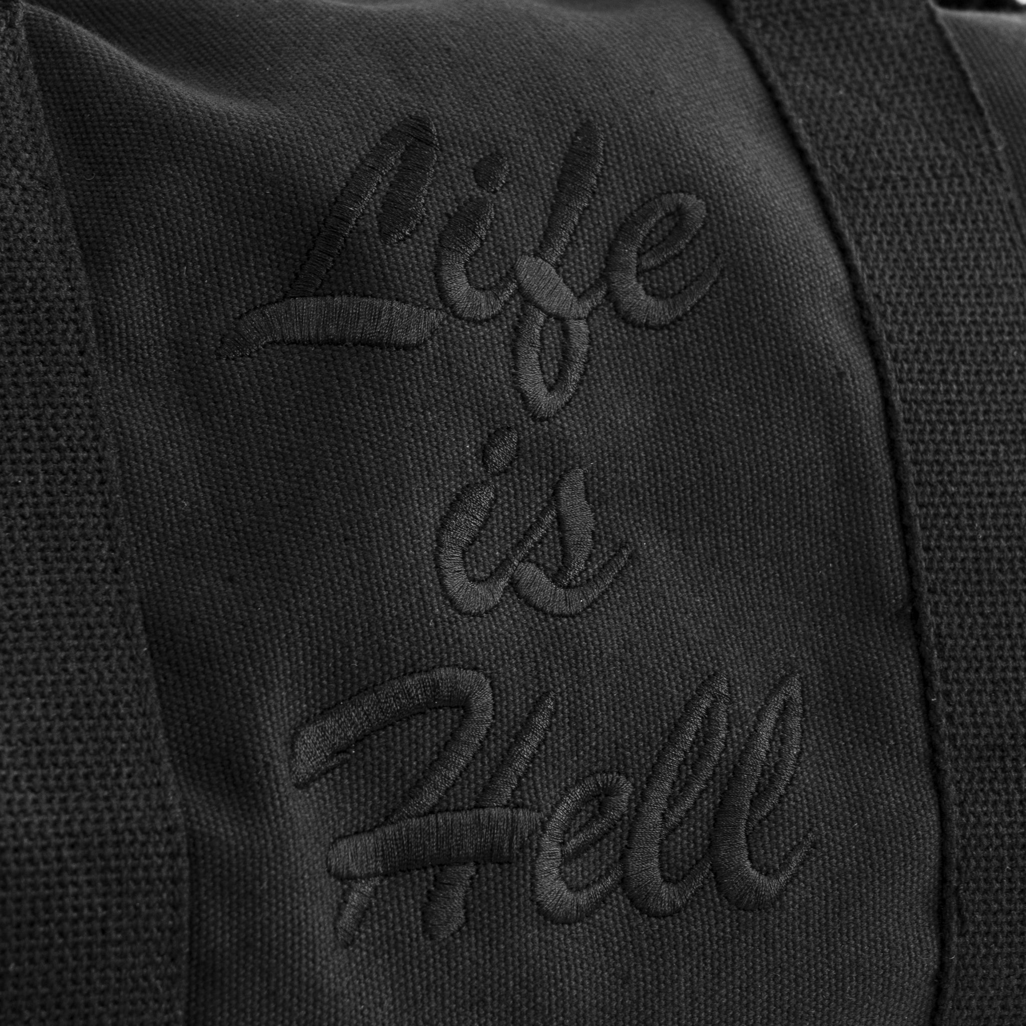 """Life Is Hell"" Black Duffle Bag"
