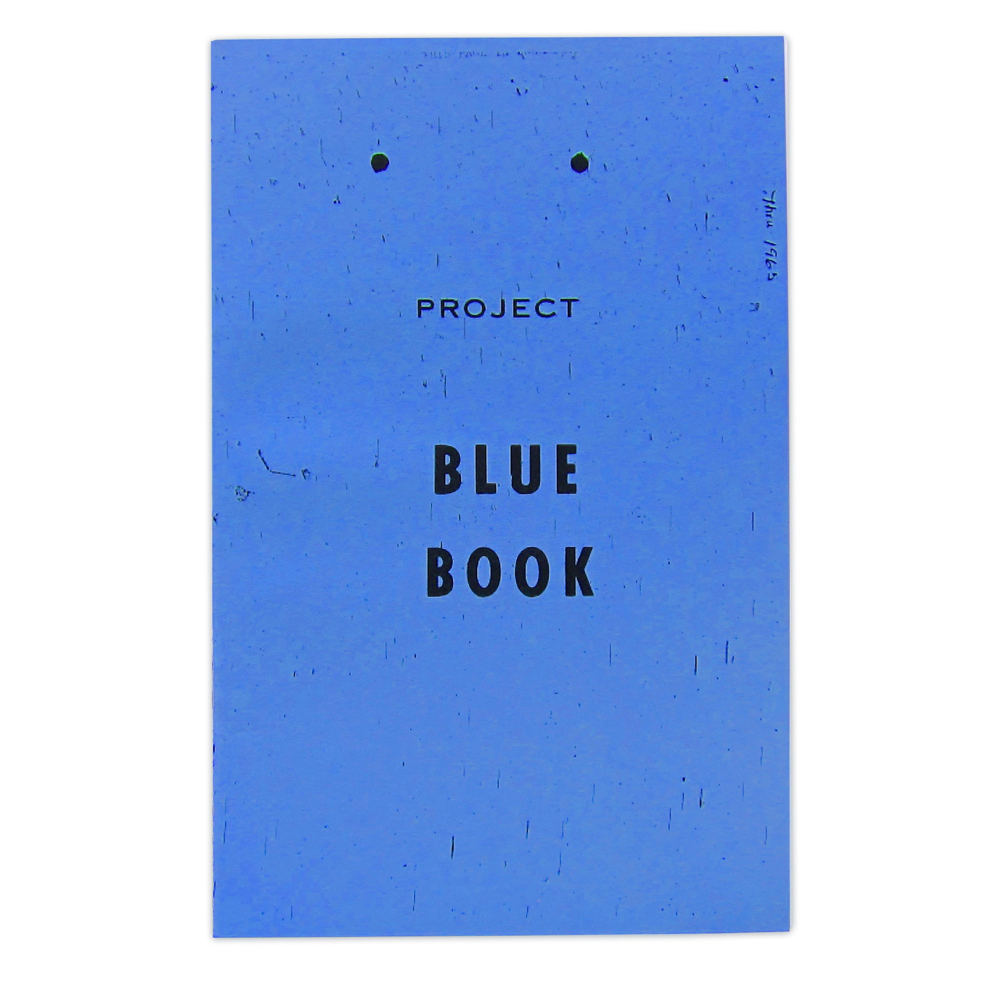 Project Blue Book UFO sighting guide zine by No Fun