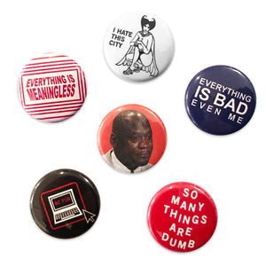 """Loonie Trap"" Button Pack"