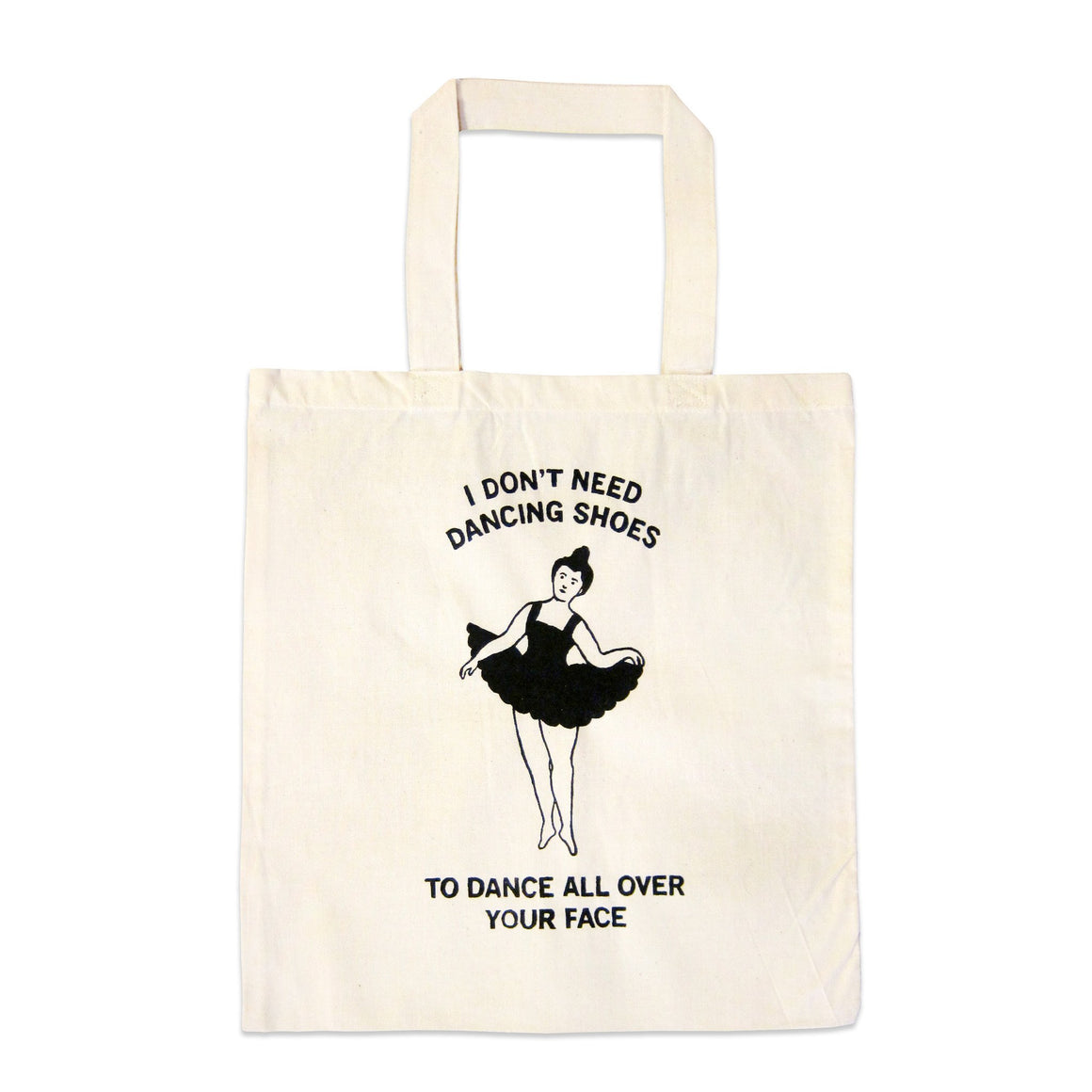 """Dancing Shoes"" Tote Bag"