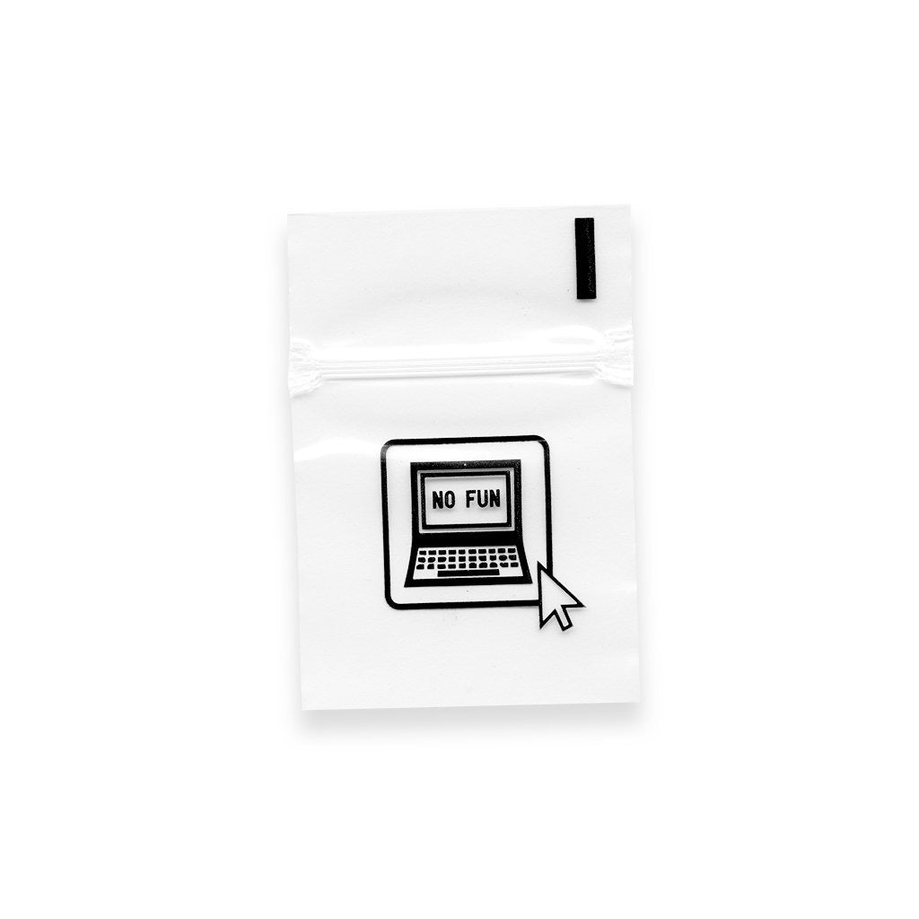 "2"" x 2"" resealable food-safe poly-bags. Designed in Toronto, perfect for an SD card or other tiny items of high value."