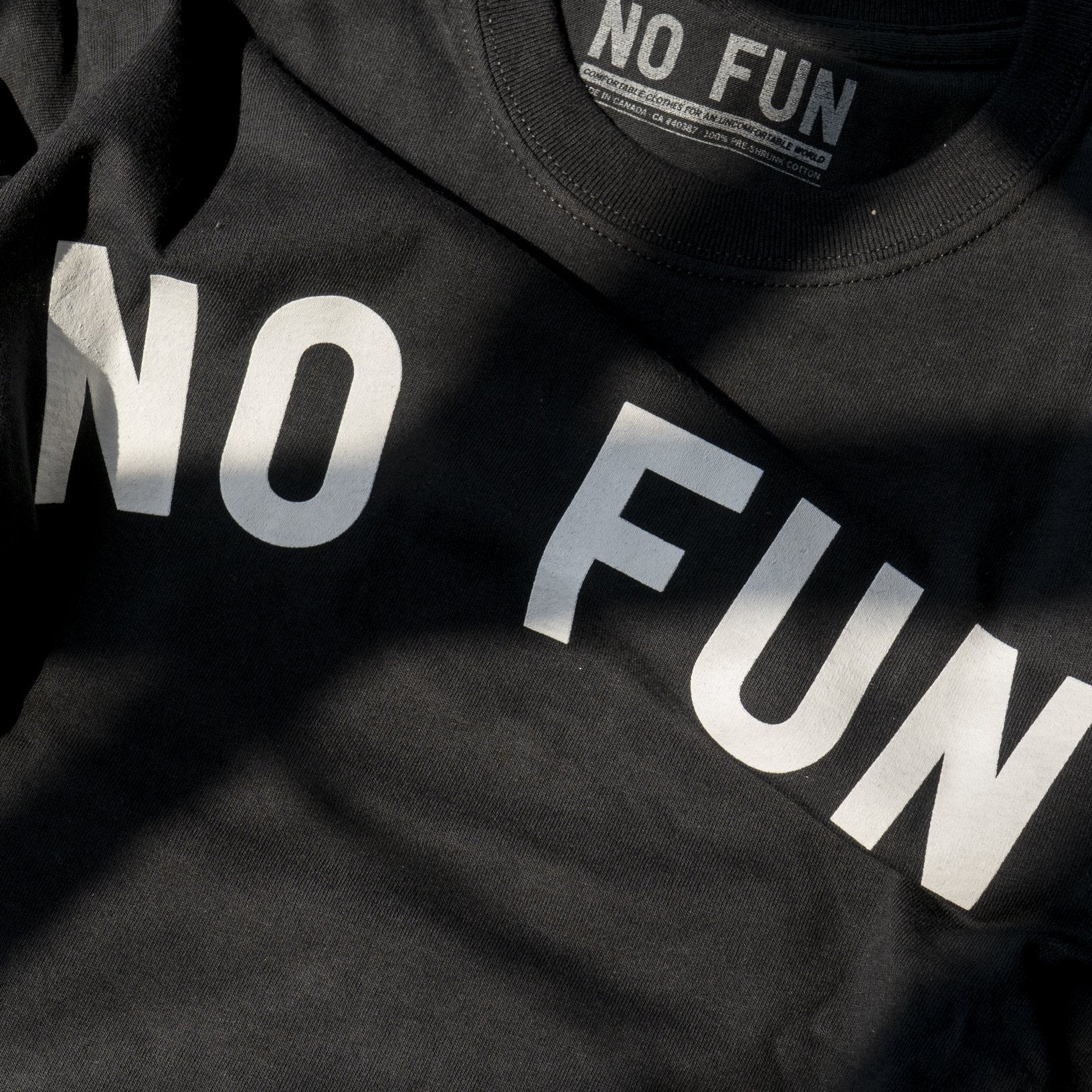 """No Fun"" T-shirt"