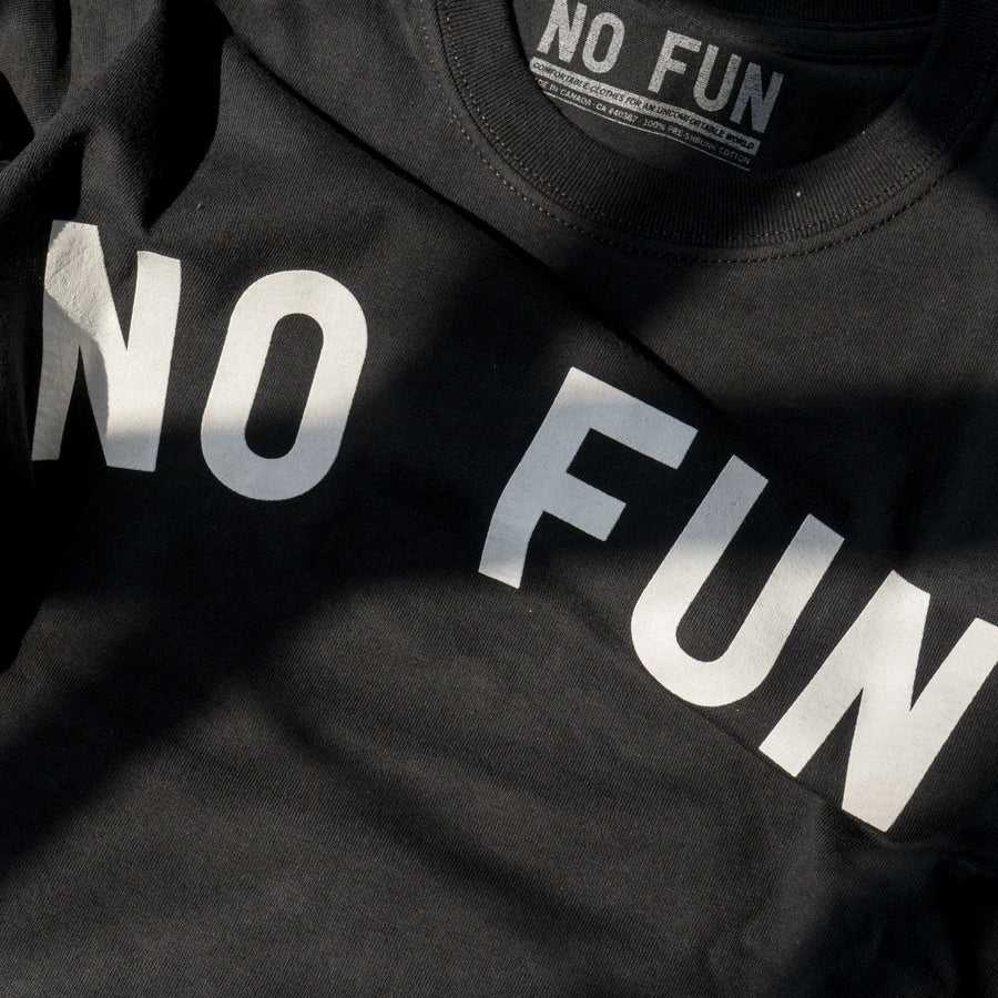 """No Fun"" classic T-shirt - Black"