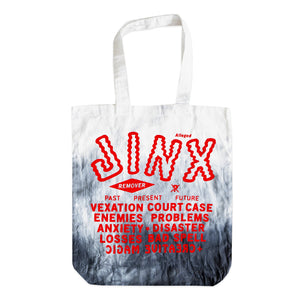 """Alleged Jinx Removing"" Tote Bag"