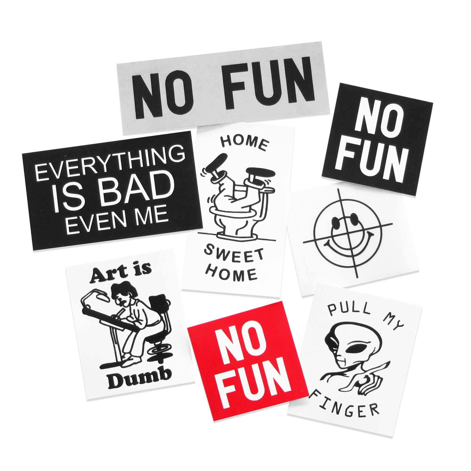 """Loonie Trap"" Sticker Pack - No Fun®"