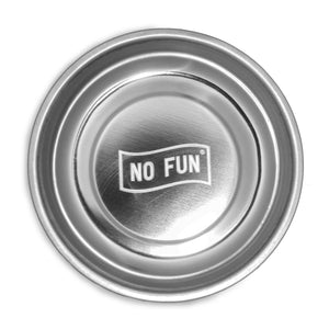 """No Fun®"" Magnetic Dish"
