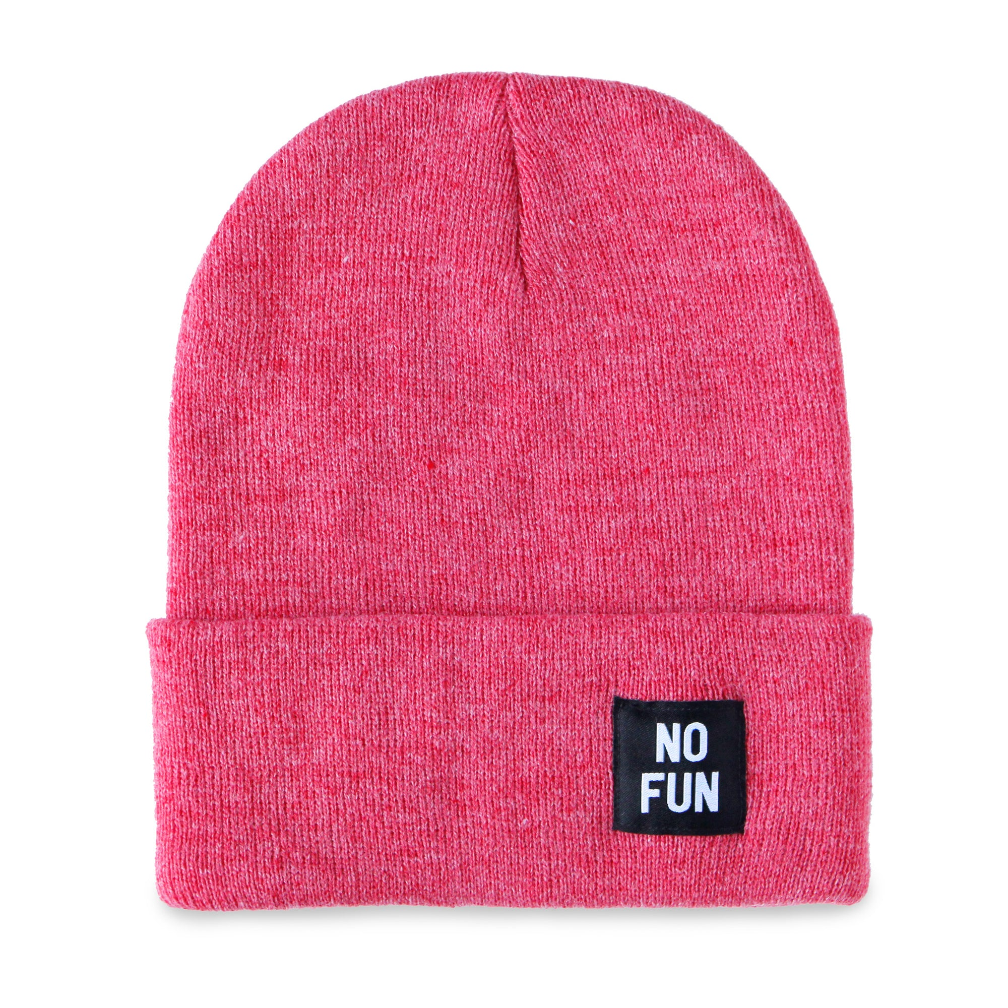 "No Fun® ""Labelled"" Beanie"