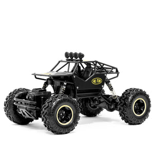 A WICKED RC car from No Fun®. Remote controlled, and oversized. Built for any terrain.