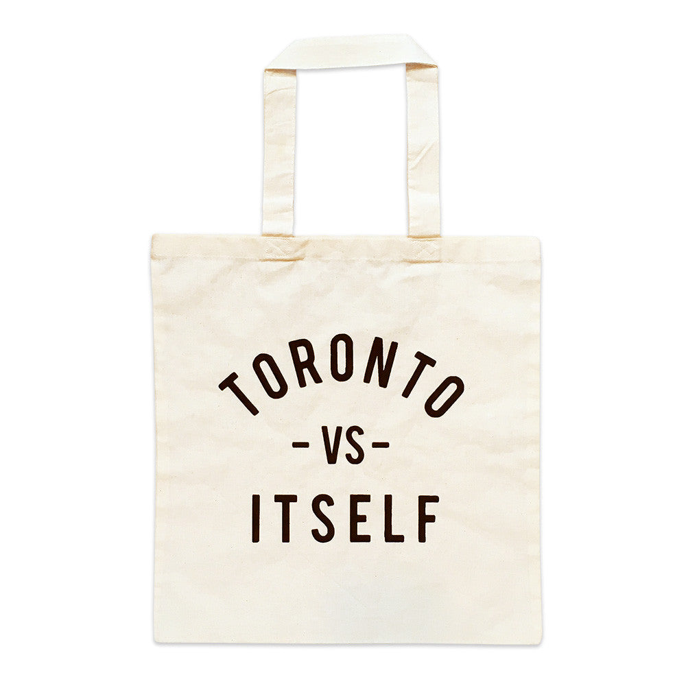 Toronto -vs- Itself tote bag