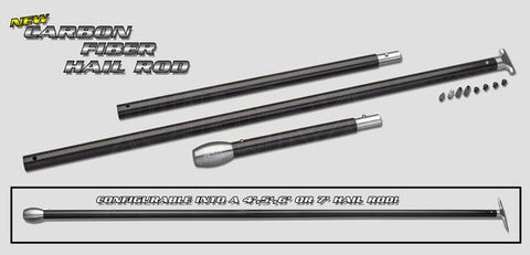 Carbon Tech Hail Rod