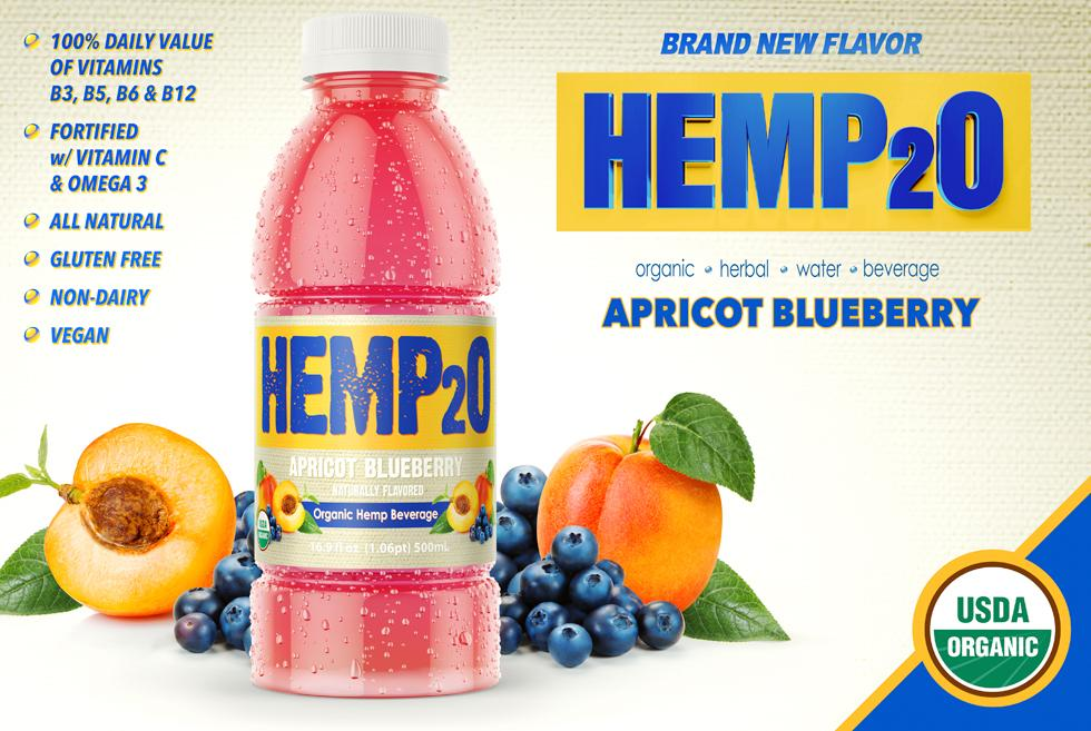 Apricot Blueberry Hemp2o