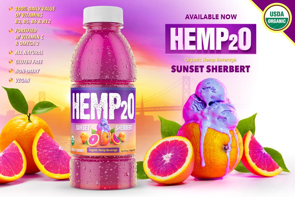Sunset Sherbert Hemp2o