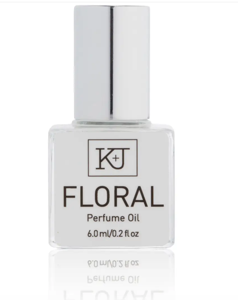 0.5 ounce BLENDS perfume oil roller bottle by Kelly + Jones in Floral scent