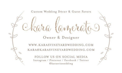 karas vineyard wedding