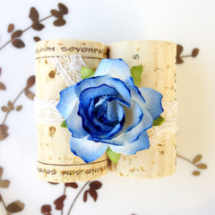 Something Blue Place Card Holder