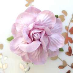 Classic Rose & Twine Place Card Holder