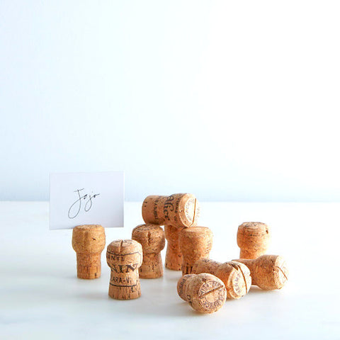 Pop The Bubbly Place Card Holders