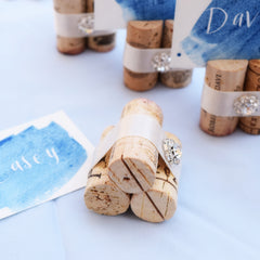 Rustic Glam Place Card Holders