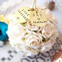 SAVE $5! 2019 Personalized Wedding & Engagement Ornaments