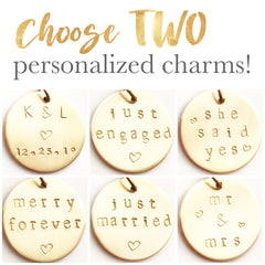 Just Married First Christmas Ornament
