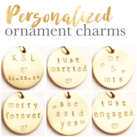 Personalized Ornament Charms