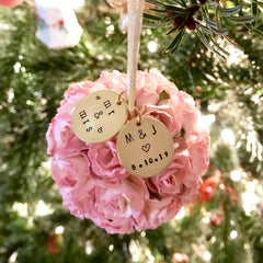 2021 Personalized Wedding & Engagement Ornaments