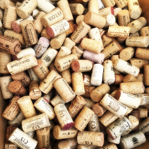 DIY Wedding Hand Selected Vintage Corks