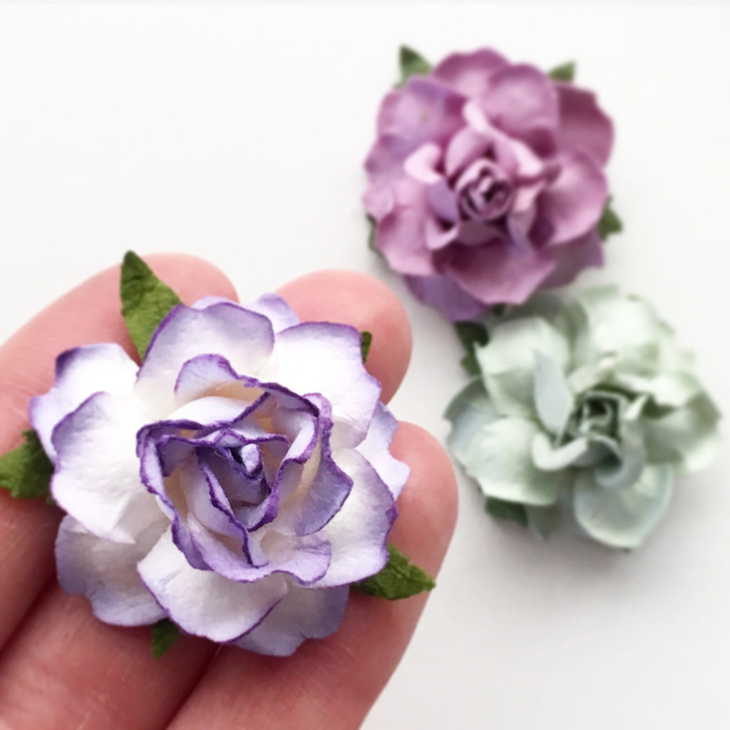 Paper flowers in 22 colors for diy wedding projects karas kvw paper flowers 15 mightylinksfo